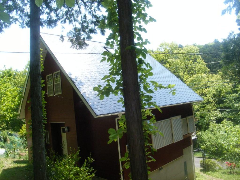 S邸屋根塗装 (1)