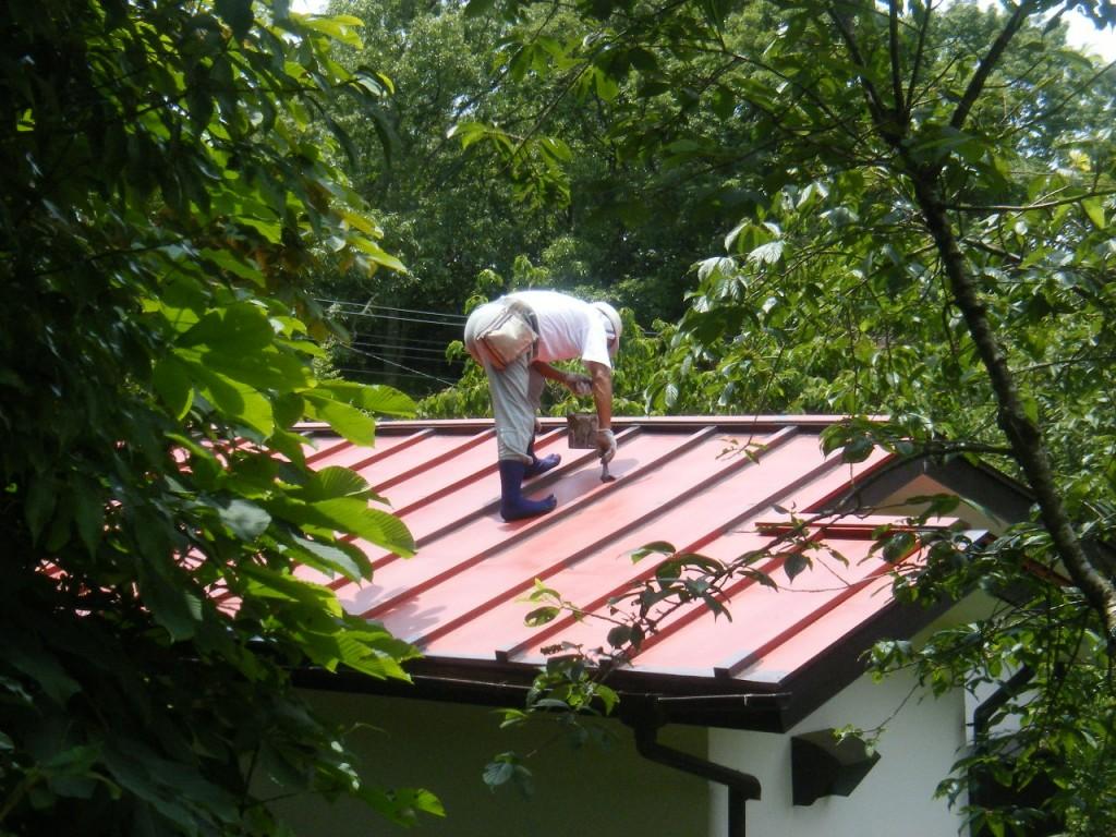 W邸屋根塗装 (4)
