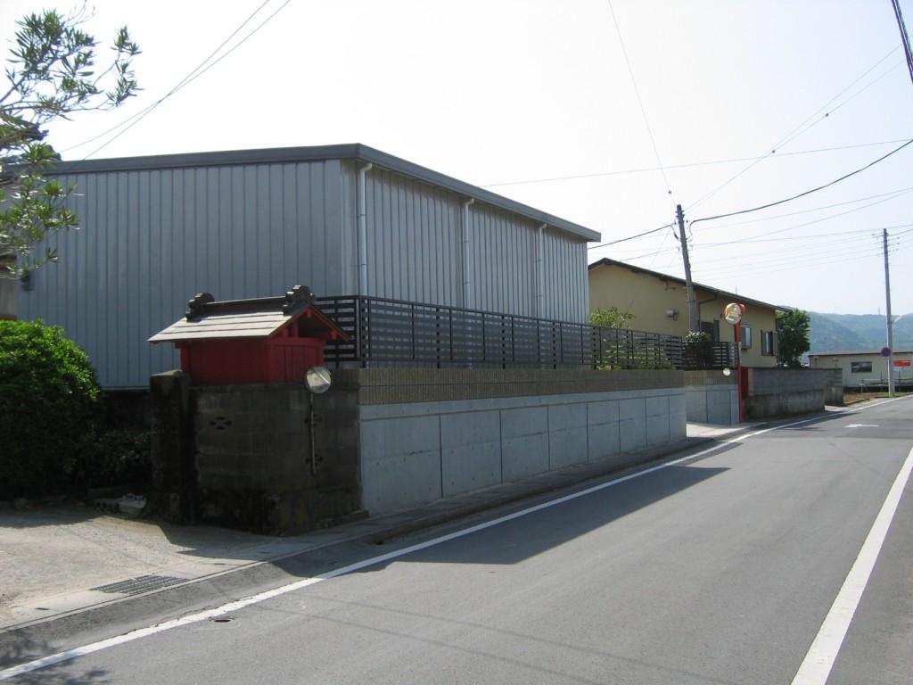 A邸倉庫フェンス (1)