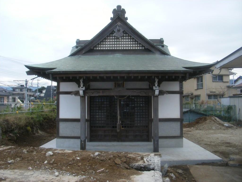曳き屋神社移設工 (3)