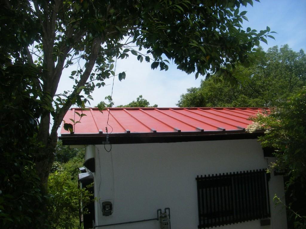 W邸屋根塗装 (2)