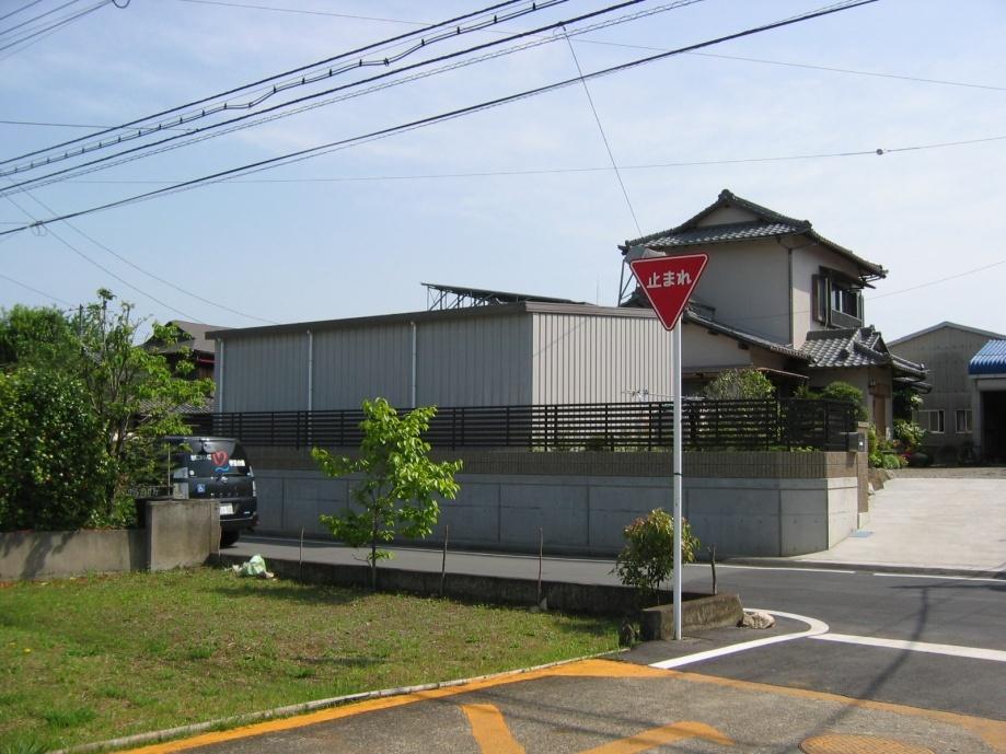 A邸フェンス倉庫